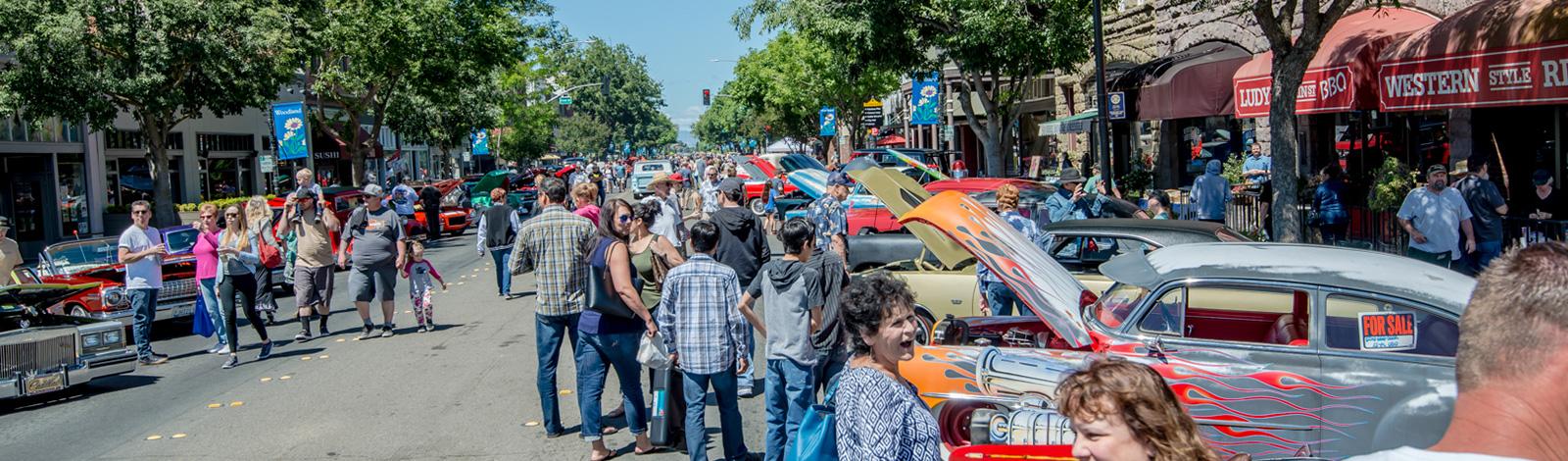 Downtown Woodland Car Show